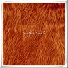 Colore lungo di /Solid della pelliccia del Faux dei capelli del tessuto felpato