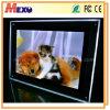 탁상 수정같은 전시 최고 호리호리한 LED 가벼운 상자 (CST01-A4L-04)