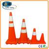 着色されたTraffic Cone、Road SafetyのためのPlastic Cone