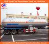50m3 de Oplegger van LPG Tank van Elliptical Type Tanker Trailer 25ton