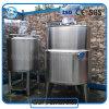 Recipiente del reactor calentado al vapor inoxidable del acero 304/316L para los productos alimenticios
