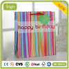 Birthday vertically Stripes Clothing Shoes Fashion Supermarket poison PAPER Bag