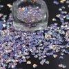 3D Diamond cintilante holográfico Flocos de pistolas de decoração Art