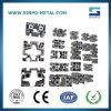 Aluminium extrudé de taille différente Profil industriel