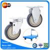 4inch 100kg容量の多車輪の実用的なカートの足車