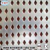 Rete fissa perforata della lamina di metallo per la decorazione