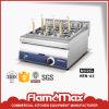 Dessus électrique de Tableau de cuiseur de nouille d'acier inoxydable (HEN-62)