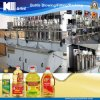 Type linéaire machine de remplissage de sauce soja avec l'entraînement de moteur servo