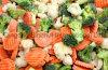 Les légumes surgelés IQF mélangé avec