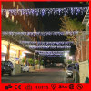 IP65 8m Weiß-Eiszapfen-Licht-Weihnachten über Straßenlaterne