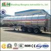 40m3 3 de Tanker van de Brandstof van de Aanhangwagen van de Tankwagen van de Olie van het Staal van de As