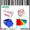 플라스틱에 의하여 착색되는 빈 물결 모양 운반물 상자 또는 포스트 상자