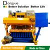 Tijolo oco concreto que faz o grupo da maquinaria do equipamento Qtm6-25 Dongyue