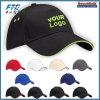 Le chapeau de golf fait sur commande blanc de coton folâtre le chapeau