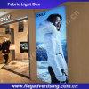 Casella chiara sottile variabile e lavabile del tessuto LED per la promozione