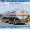 De 3 axes de carburant de camion-citerne bas de page semi