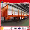 Aanhangwagen van het Logboek van het Vervoer van het Platform van de Staak van de tri-as de Post Semi