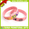 Bracelet promotionnel de silicones de Debossed de couleur (TH-band076)