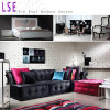 Sofá moderno da sala de visitas do borne ajustado para o desenhador interior