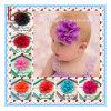 아이들 빈 파도치는 가장자리 꽃 아기 머리띠 12 색깔 소녀 머리 부속품 머리 악대