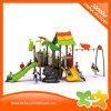 Оборудование парка атракционов игрушек спортивной площадки малышей темы природы сползает с качаниями