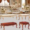 Il sofà di legno del tessuto ha impostato per la mobilia del salone (510B)
