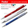 Bonne qualité 0.5/0.7mm en aluminium crayon mécanique