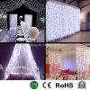 Luz de Cortina de LED para o Natal e Wedding