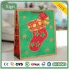 Weihnachtsgrüne Socken-Papierbeutel, Geschenk-Papierbeutel