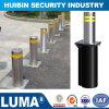 Tubo de acero inoxidable las barreras para el tráfico de la seguridad vial con el tráfico de la cinta reflectante Post