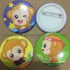 Kundenspezifische Zinn-Tasten-Abzeichen mit Sicherungsstift für preiswerte fördernde Geschenke
