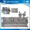 Machine de conditionnement façonnage/remplissage/soudure de poche horizontale pour les sachets simples et jumeaux