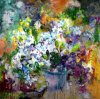 Peinture abstraite de la peinture à l'huile 2