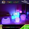 Meubles de patio Incandescent en plastique Meubles lumineux à LED