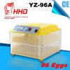 96 Eier CER markierter automatischer Minihuhn-Ei-Inkubator (YZ-96A)