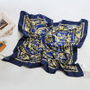 Fashion Square Polyester Satin Scarf (YKY1028)