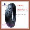 Schlauchlos, lange Lebensdauer-Motorrad-Reifen des ISO-Nylon-6pr mit 130/80-17tl