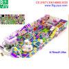 Patio de interior púrpura grande del parque de atracciones para los niños (BJ-IP36)