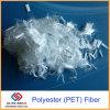 Restringimento che riduce la fibra di poliestere dell'animale domestico dell'asfalto della mescolanza