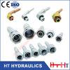 Producteur professionnel pour l'embout de durites hydraulique droit de Bsp de coude (22611.22611-T. 22611-W)