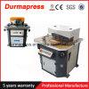 Machine de entaille hydraulique de Qf28y 4X250 (cornière de découpage fixe)