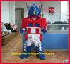 Traje adulto da mascote dos transformadores