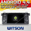 BMW E46 (W2-A7212)를 위한 Witson Android 4.4 System Car DVD