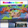 虹の織機キットの輪ゴムDIYのブレスレット