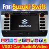 PCar DVD GPS Gezeten Nav voor het Leer 0701b van de Zak van U van Suzuki Swift (VSS7029)