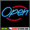 Blauw en Red Open Sign (ly-12v-NS)