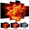 Flower abstrato Art Prints para Decoration (SJMD3849)