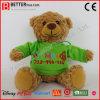 Promoção Programável Animal recheadas de pelúcia ursinho de brinquedo no capuz
