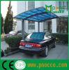 Techo de policarbonato alquiler de vivienda, el aluminio cochera cubierta