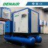 Compresor de aire lleno del tornillo del funcionamiento con el secador, el tanque, filtro
